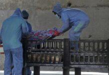 : Kasus kematian akibat Corona di India (Dok: AP Photo)
