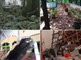 Gempa 6,7 M di Malang, Sabtu (10/04/2021)/ twitter