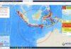 Gempa 6.7M di Malang, Sabtu (10/04/2021)/ twitter: Nganjuk Kota Angin