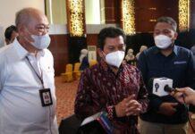 Direktur Utama BPJS Kesehatan Ali Ghufron Mukti saat Kick Off Pengelolaan Program JKN yang Transparan dan Akuntabel Melalui Penguatan Kapabilitas Verifikator, Kamis (22/4/2021).