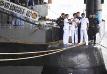 Dokumentasi - KRI Nanggala-402 di Dermaga Kapal Selam Komando Armada II, Surabaya, Jawa Timur, Rabu (20/2/2019). - Antara/Zabur Karuru