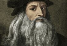 Leonardo da Vinci (1452-1519) adalah seorang polimatik Italia dari High Renaissance yang secara luas dianggap sebagai salah satu individu paling berbakat yang pernah hidup. Lukisan Mona Lisa atau La Gioconda yang terkenal adalah salah satu karyanya. Leonardo da Vinci lahir di Anchiano, Italia pada 15 April 1452 atau berzodiak Aries. Dia meninggal pada 2 Mei 1519 Château du Clos Lucé, Amboise, Prancis.(Wikipedia)