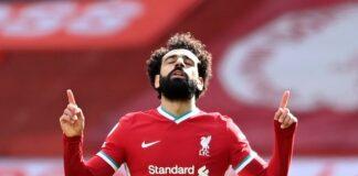 Penyerang Liverpool Mohamed Salah