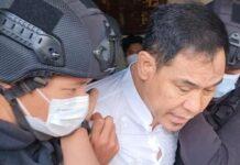Eks Sekum FPI Munarman akhirnya ditangkap Densus 88. Munarman ditangkap di kediamannya. foto: ist
