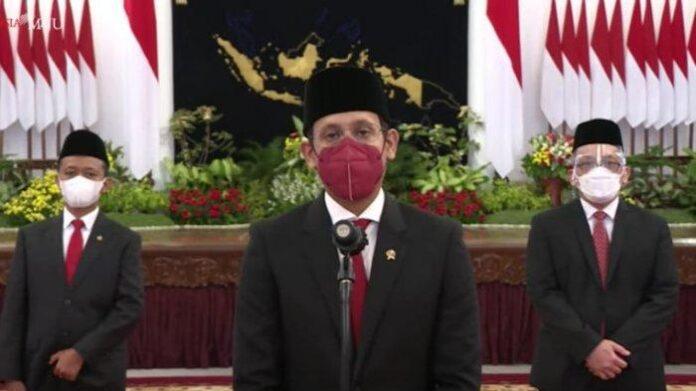 Nadiem Makarim Mendikbud-Ristek