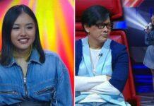 Naja Dewi putri Armand Maulana dan Dewi Gita baru saja menghebohkan panggung The Voice Indonesia.Armand Maulana Dukung Anak Jadi Musisi,