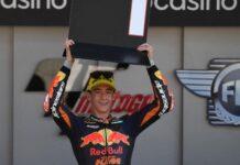 Pedro Acosta tampil luar biasa di tiga seri Moto3 2021. (AFP/PATRICIA DE MELO MOREIRA)