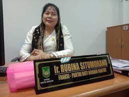 Anggota Komisi II DPRD Kota Batam, Kepulauan Riau, Rubina Situmorang
