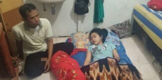 Echa yang sudah tidur sepekan tanpa bangun-bangun. (kanalkalimantan.com)