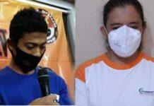 Pasangan selingkuh tersangka pembunuhan pengusaha wajan Bantul. foto: ist