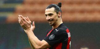 Zlatan Ibrahimovic perpanjang kontrak 12 bulan lagi bersama AC Milan. (Foto dari LiveScore)