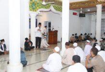 Wali Kota Batam saat safari Ramadhan