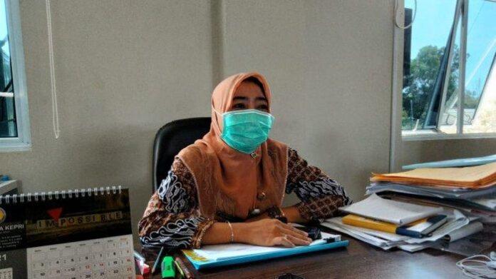 Rekrutmen ASN 2021, Pemko Tanjungpinang Buka 420 Formasi CPNS dan PPPK. Foto Kasubag Pengadaan Informasi Kepegawaian, BKPSDM Tanjungpinang, Halipah Haini