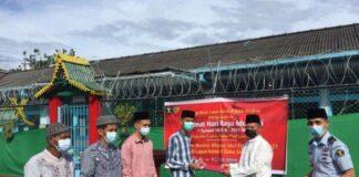 Foto Narapidana Lapas Kelas III Dabo Singkep Dapatkan Remisi Idul Fitri 1442 H tahun 2021