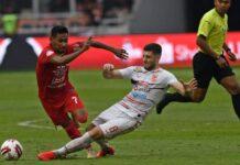 Foto Pertndingan Liga 1 indonesia