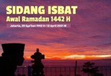 Kemenag akan menyiarkan langsung sidang isbat penentuan awal Ramadhan 2021, salah satunya melalui kanal YouTube Kemenag, Senin (12/4/2021).(YouTube Kemenag RI)