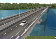 Jembatan Batam-Bintan.(Dok. Kementerian PUPR.)