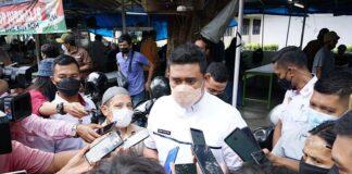 Wali Kota Medan Muhammad Bobby Afif Nasution di Jalan Agus Salim, Medan, Jumat (07/05/2021).(DOK. Humas Pemkot Medan)