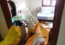 JT (80), Warga Perumahan plamo garden blok B No 27, Batam Center ditemukan membusuk di dalam kamarnya, Selasa (11/5/2021) sekitar pukul 15.300 WIB.