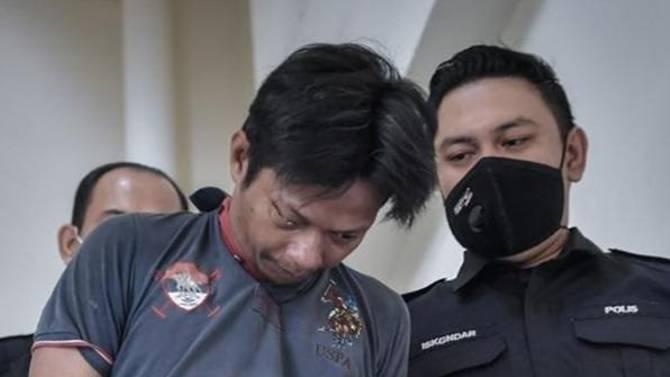 Mohamed Badruldin Mohamed didakwa di Malaysia pada 12 Mei 2021 karena membunuh dan menyodomi bayi. (Foto: Bernama via CNA)