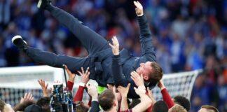 Bos Leicester Brendan Rodgers menyatakan bertahan bersama The Foxes setelah timnya menjuarai Piala FA 2020/21.