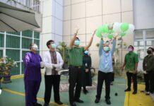 """RSBP Batam mencanangkan gerakan """"RSBP Batam Menuju Green Hospital,"""" pada Jumat (7/5/2021) pagi, di Lobby Utama Gedung B RSBP Batam"""