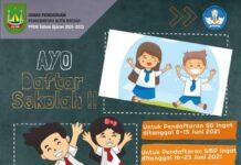 Pendaftaran SD dan SMP di bulan Juni 2021