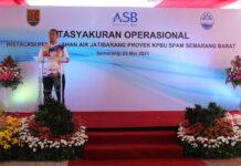 Tasyakuran pengoperasian Instalasi Pengolahan Air Minum (IPAM) Jatibarang dalam Rangkaian Proyek KPBU Semarang Barat, Minggu (23/05/2021)