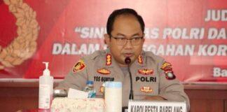 Kapolresta Barelang Kombes Pol Yos Guntur, SIK