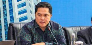 Menteri BUMN, Erick Tohir/ Okezone