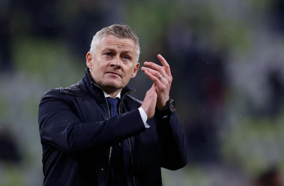 Manajer MU Ole Gunnar Solskjaer usai kekalahan dari Villareal di laga fina Liga Eropa 2021. (Foto dari Uefa.com)