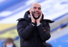 Manajer Manchester City Pep Guardiola. (Foto dari Premierleague.com)