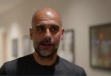 Tangkapan layar video wawancara Pep Guardiola di situs resmi mancity.com.