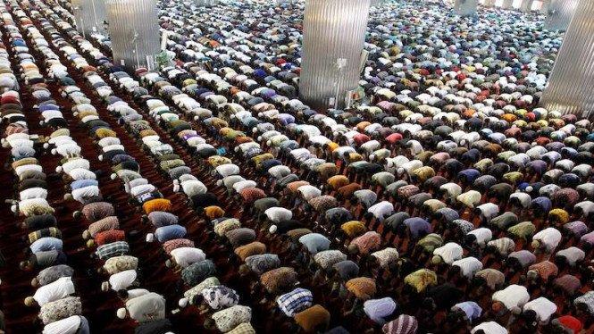Shalat Ied di Masjid Istiqlal Jakarta