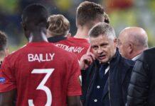 Manajer Manchester United Ole Gunnar Solskjaer saat final Piala Eropa 2020/21 melawan Vilareal. (Foto dari MENSport)