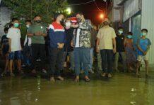 Wali Kota Medan Bobby Nasution Cek Lapangan yang Banjir