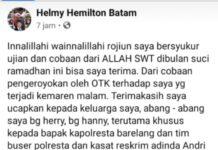Pengroyokan Mantan Anggota DPRD Helmy Helminton di Blue Fire Harbour Bay