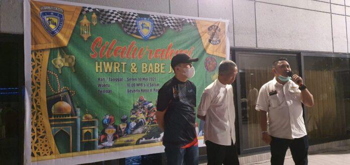 Haji Willy Racing Team (HWRT), menggelar silaturahmi dan buka puasa bersama di Hotel Beverly, Senin (10/5/2021) malam.