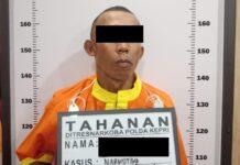 Pelaku bawa heroin seberat 54,42 Gram di Kota Batam, Selasa (25/05/2021)