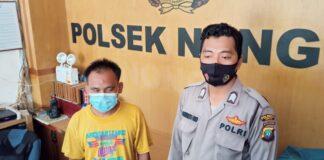 Andri (36) pelaku pembunuh istrinya Dewi (34) di Kavling Bida Kabil, Nongsa, Batam, Kepulauan Riau