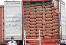 Pelepasan ekspor produk olahan kelapa ke Eropa oleh PT Bionesia Organic Food, Bintan. Badan Pusat Statistik BPS Provinsi Kepri mencatat bahwa perkembangan nilai ekspor Provinsi Kepri pada April 2021 mengalami kenaikan 1,90 persen jika dibandingkan bulan Maret 2021. Foto Oleh : Asiik3