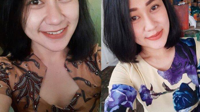 Eva Sofiana Wijayanti (33), perawat berwajah cantik yang bekerja di klinik kecantikan Bunga Husada di Desa Arjowilangun, Kalipare, Kabupaten Malang. foto: net