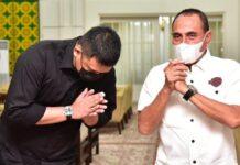 Gubsu Edy Rahmayadi dan Walkot Medan Bobby Nasution (Foto: dok. Diskominfo Sumut)