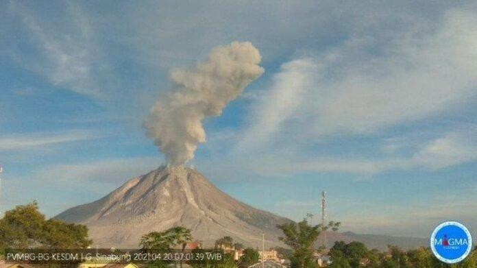 Foto Gunung Sinabung
