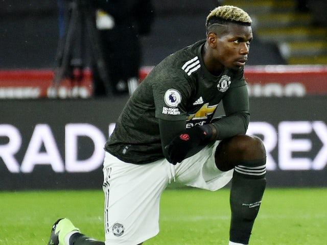 Gelandang Manchester United Paul Pogba. (Foto dari Sportsmol)
