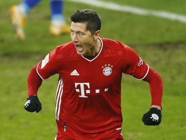 Chelsea dan Manchester City akan bertarung untuk mendapatkan Robert Lewandowski dari Bayern Munich. (© Reuters via Sportsmole)