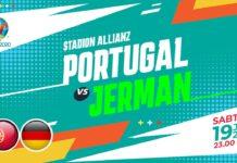 Portugal vs Jerman di Euro 2020.