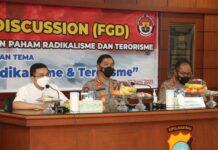 im Divisi Humas Mabes Polri menggelar Focus Group Discussion (FGD) di Aula Anindhita Lantai 2 Mapolresta Barelang, dalam rangka Pencegahan Penanggulangan Paham Radikal dan Terorisme, Kamis (10/06/2021) siang.