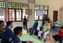 Satres Narkoba Polres Lingga resmikan Desa Batu Kacang, Kecamatan Singkep, Kabupaten Lingga jadi Kampung Tangguh Bebas Narkoba