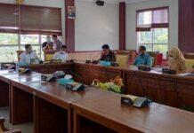 Rapat koordinasi antara Komisi IV DPRD Kota Batam dan Dinas Pendidikan Kota Batam, membahas tentang PPDB tingkat SD dan SMP, Kamis (3/6/21).
